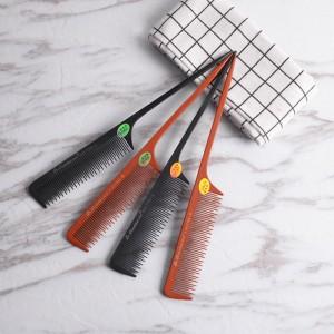 Classical Sharp Rat Tail Hair Comb Detangling Hair Handmade Bone Comb (735-AB)