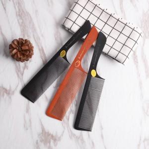 High Temperature Resistance Bone Comb Salon Barber Use Handmade Comb(740-AB)