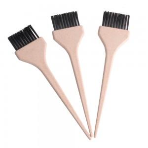 Nuovo design prezzo di fabbrica accessori parrucchiere pennello colorante rosa spazzola tinta fai da te