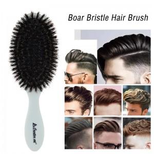 Top selling customized plastic boar bristle hair brush,oval paddle hair brush wholesale