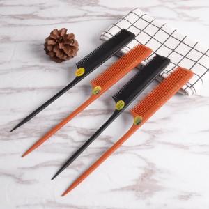 Professional Handmade Bone Comb Sharp Rat Tail Comb For Salon Use (720-AB)