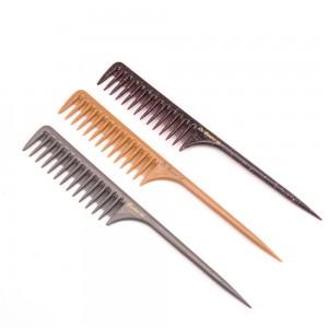 Corrugated Pre_Painted Steel Strip Salon Hair Clips - Rat Tail Plastic Comb Professional Salon Styling Sharp Comb – QiLin