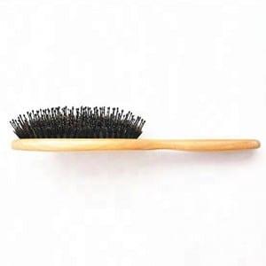 High quality factory hair brush massage wooden hair brush set