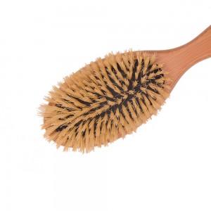 Sisal Bristles Board Air Cushion Hair Brush Bamboo Hair Brush Scalp Massage Hair Brush