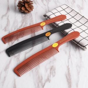 Dongguan Factory Handmade Comb Strong Heat-Resisting Bakelite Hair Comb(702-AB)