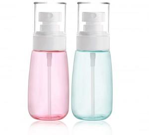 Refillable Fine Mist Spray Bottle Travel Spray Bottle Cosmetic Sprayer for Essences Perfume HairSpray Skincare Makeup Refillable Fine Mist Spray Bottle Travel Spray Bottle Cosmetic Sprayer for Esse...