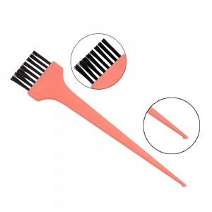 Utilizzo spazzola per capelli fai da te colorazione pennello strumenti di capelli tintura salone di colore dei capelli