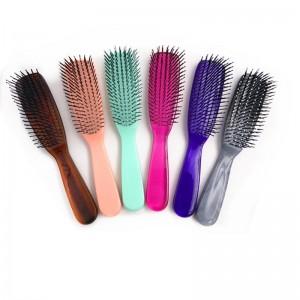 Salon Styling Magic Handle Tangle Plastic Detangle Hair brush