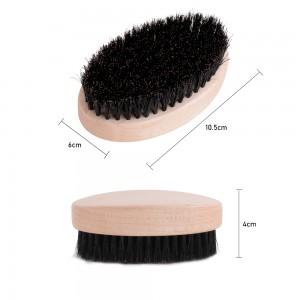 Manufacturer Wholesale No Handle Wooden Paddle Soft Wave Brush