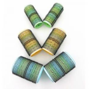 Prepainted Steel Custom Hair Brush - Best Anti-Static Self Grip Hair Rollers Curlers Bigoudis Hair Rollers – QiLin