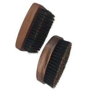 beard care brush boar bristle wooden hair brush