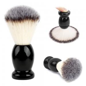 Tin Box Custom Hair Combs - High Quality Hot Sale Resin Handle Shaving Brush Pure Badger Hair Shaving Brush – QiLin