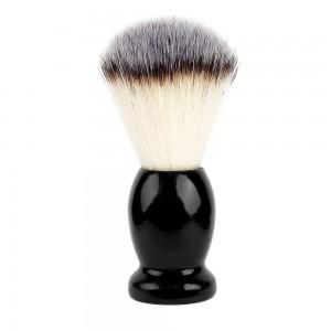 High Quality Hot Sale Wood Handle Shaving Brush Nylon Bristle Hair Shaving Brush